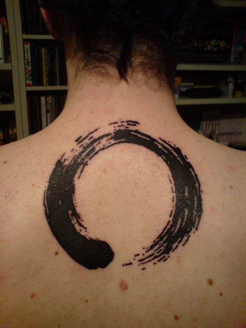 circle tattoos. Enso Zen Circle Tattoo
