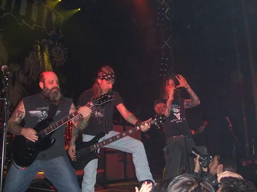 Kirk, Rex y Phil liandola