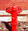H/12 (*Somerset.*) Tags: red hydrant firehydrant fireplug ortoneffect top20red top30red