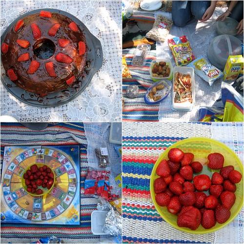 mosaico do picnic 2 | comida