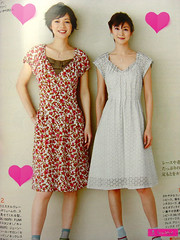 fave dresses (sew-mad) Tags: fashion magazine japanese book craft mrsstylebook sewmad