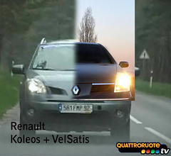 Koleos  + VelSatis (*Tom [luckytom] ) Tags: auto new car tom automobile offroad renault vel vehicle suv saloon luxury macchina velsatis ctm coleos satis koleos favcol renaultkoleos renaultvelsatis luckytom coleoso koleoso