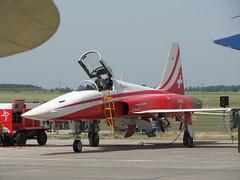 F-5 der Patrouille Suisse