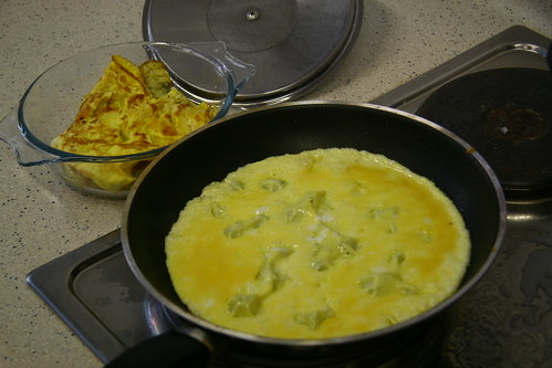 Preparation of the Omelette