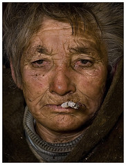 Juli néni / Old woman