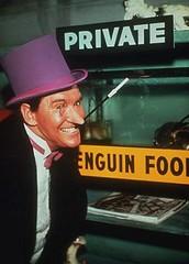 Burgess Meredith como El Pingüino en Batman