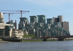 development on the thames