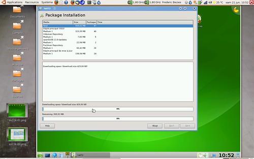 Récupération des mises à jour sous OpenSuSE et KDE 4.0