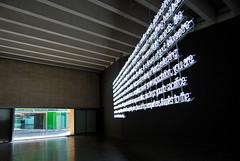 León MUSAC Interior Expo Cerith Wyn Evans 847 (javier1949) Tags: color luz arquitectura museo cristal león vidrio exposición musac neón castillayleón cerithwynevans mmansillatuñón
