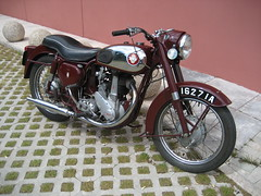 BSA Motorcycle (Michael Comiskey) Tags: motorcycle 2008 bsa cultra b31 uftm ulsterfolkandtransportmuseum bsab31