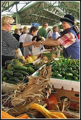a farmers' market in Overland Park, KS (by: Frank Thompson, creative commons license)