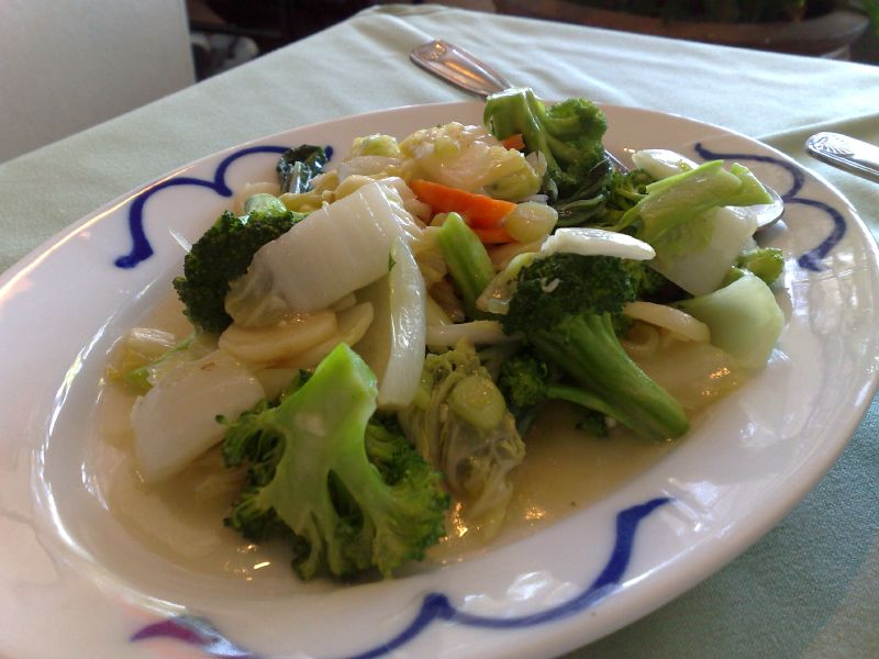 Vegetables in Garlic Sauce