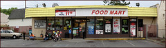Food Mart (Berd) Tags: panorama beer washington peace wine olympia cigarettes peaceonearth foodmart