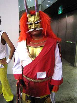 Liondance head