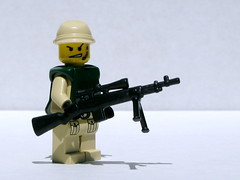 BrickArms M21 Sniper Weapon System prototype (Dunechaser) Tags: army gun lego military rifle review prototype sniper accessories minifig minifigs custom sws prerelease prototypes m21 brickarms brothersbrickcom