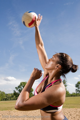 volleyball serve image