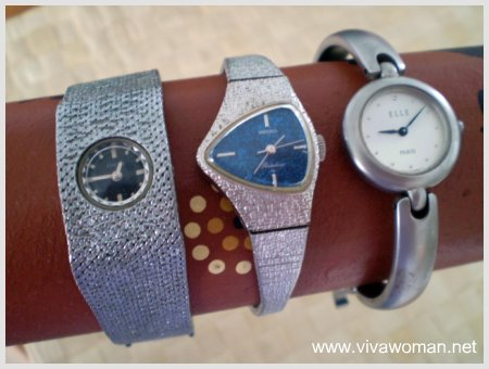 Vintage looking retro watches