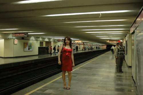 Jessica En El Metro