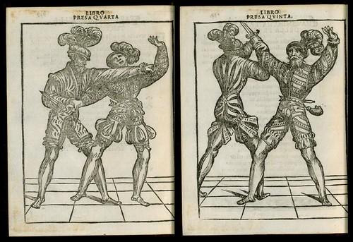 L'arte de l'Armi by Achille Marozzo, 1536 k