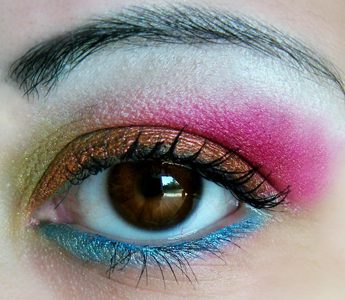 Eye shadow colorful gallery
