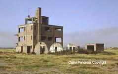 Fearn Control Tower, Dalcross, Scotland, September 1989. (Lady Wulfrun) Tags: tower scotland control navy royal owl ww2 1989 raf hms airfields fearn dalcross