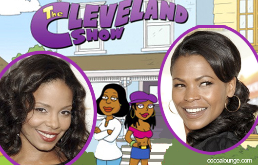 Nia Long and Sanaa Lathan Get Animated