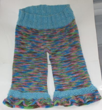 Freckle Bottoms Medium Longies Spiffy Knits Tomboy Cestari Fine