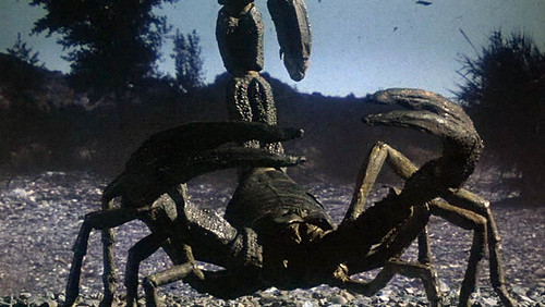 Image of the Scorpions from Clash of the Titans