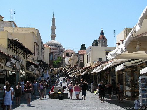 Rhodes medieval Old Town