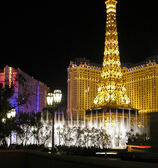 7/21/08: Fountains at the Bellagio.