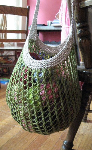 Free Pattern Friday Grrlfriend Market Bag Imagiknit