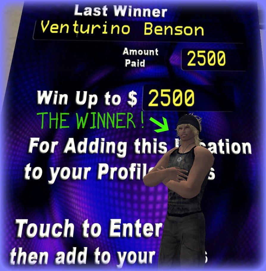 I won!!