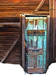 Home Phone (The Joy Of The Mundane) Tags: door wood macro texture abandoned closeup peeling flake textures peel flaking abandonment textured personalbest