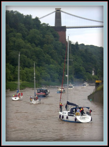 End of Bristol Harbour festival