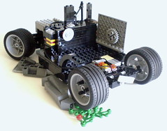 trashed hot-rod (Apple - Pie) Tags: california car trash steering lego technic hotrod tuner applepie