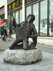 Statue of Jimi Hendrix