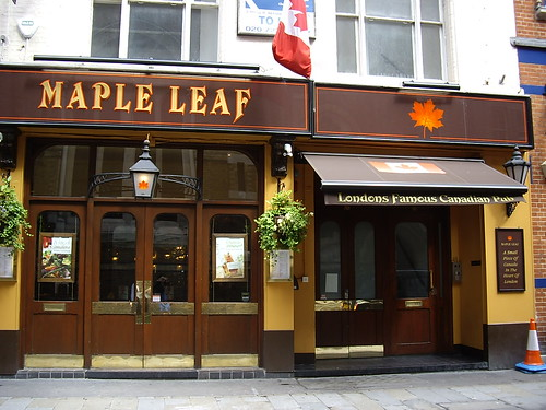 Maple Leaf - London's Famous Canadian Pub