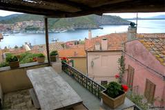 The Perfect View ( LightMirror) Tags: sea urban italy panorama italia raw mare balcony tuscany toscana italians portoercole lightmirror nikond300