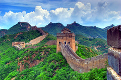 Great Wall, Jinshanling (Thomas Reichart ) Tags: pictures china holiday asia asien photos famous great beijing july unesco presentation greatwall traveling 2008 peking sites reise jinshanling worldheritagelist grossemauer