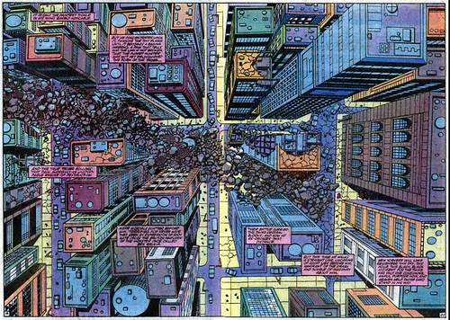 Double-page spread from The Thing #6, by Ron Wilson