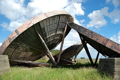 RAF Stenigot - Dishes (ricklus) Tags: uk england urban cloud cold abandoned home station clouds lens high nikon zoom decay military ace ruin front system lincolnshire chain scatter f secure mm 1855mm dishes nikkor 18 55 exploration derelict epic radar decayed forward communications decaying raf nato satelite dx urbex fss aeriel mids f3556 d40 stenigot zoomnikkor urbexing ricklus midsurbexing