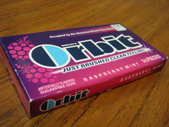 Orbit Raspberry Mint
