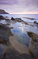 CALNEGRE1-2 (SanchezCastillejo) Tags: sea beach mar murcia amanecer playas calnegre
