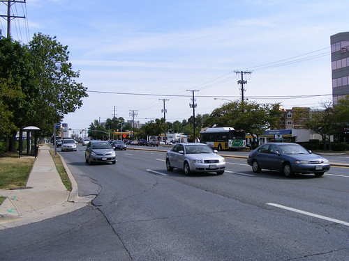 Rockville Pike Looking South From Twinbrook Pky