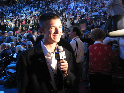 Muskogee Mayor John Tyler Hammons at the 2008 Republican National Convention