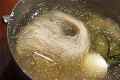 Cold noodle / cold soup - (DSC_2456)