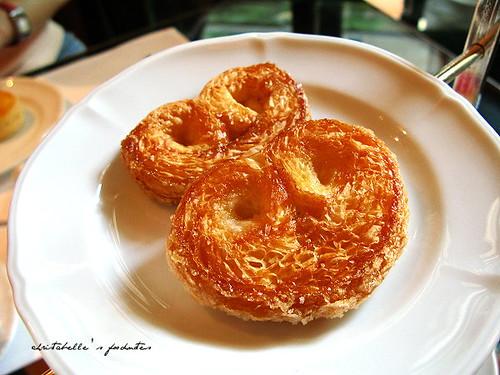 西華飯店Harrod's午茶之蝴蝶酥