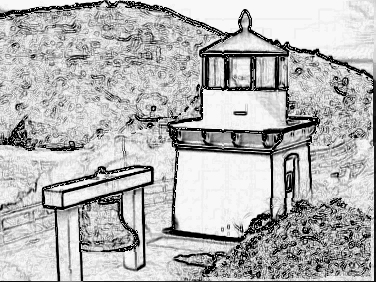 Pencil Lighthouse