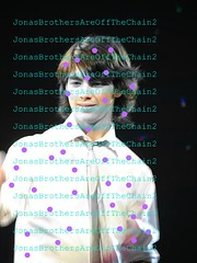 RARE-Jonas Brothers- Joe wearing a silver tie, with sleeves rolled up waving-(TRADE?) (JonasBrothersAreOffTheChain2) Tags: mandy show new camp dog hot cute girl up rock zoe joseph paul living video mine kevin tour play little guitar tag nick dream young piano husband joe frankie ring nicholas burnin prom mtv sing taylor onstage demi swift cry denise jonas rare bit selena longer meyers gomez trl diabetes purity lovato wylmite