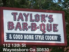 Taylor's Bar-B-Que
